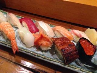 魚河岸のお寿司盛り合せ魚河岸盛り